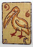 Mosaic of Ancient Pelican