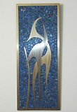 Sigi - Sigfrido Pineda mixed metal Wall Plaque