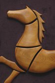 Wooden Horse Sculpture #3/3