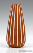 Ekeby Striped Vase