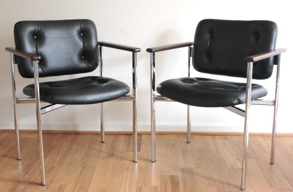 Stendig Leather Chairs   Finland