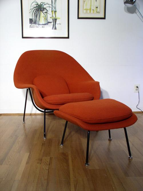 eero saarinen womb chair u0026 ottoman