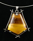 Tigers Eye Pendant - Finegem