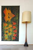 Laurel - Teak Floor Lamp