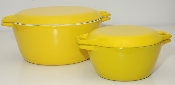 Michael Lax - COPCO yellow Casseroles