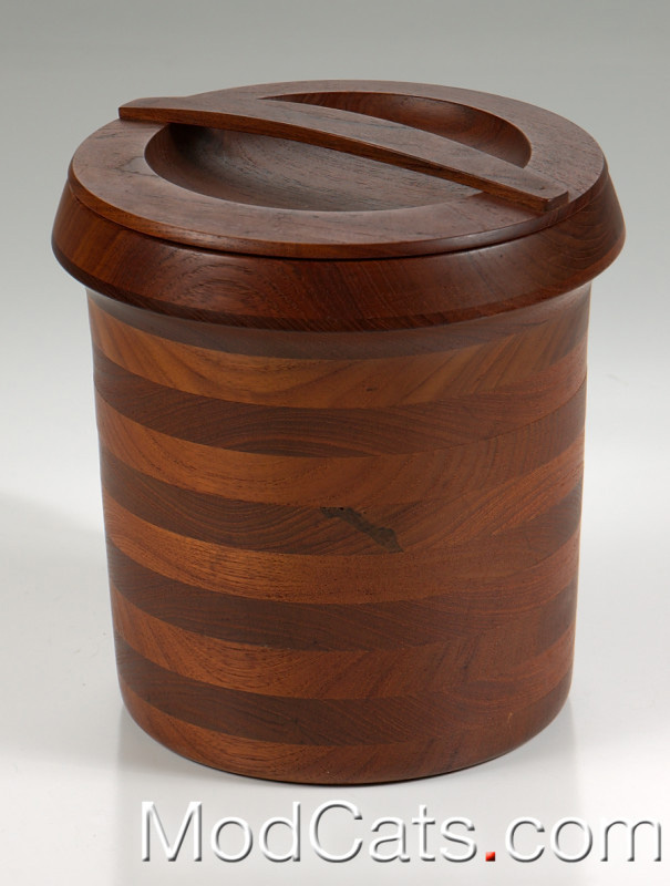 Danish Teak Ice Bucket Wiggors